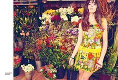 bright clothes, bright garden