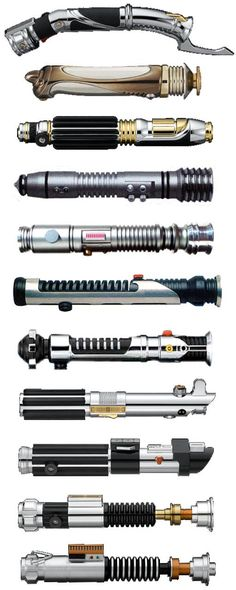Lightsabers - Star Wars---that awkward moment when I thought these were sonic screwdrivers.....