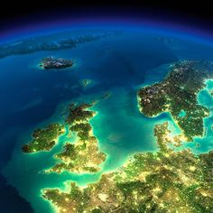 A-night-on-Earth-NASA-20 England and north France