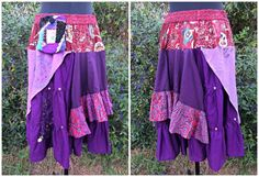gypsy skirt tutorial I love the colors of this one!!!!