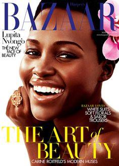 Photo of Harper's Bazaar UK (Lupita Nyong'o - Bazaar UK - May 2015)
