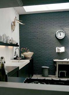 kitchen - brick