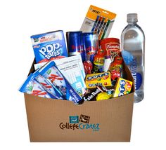 Most excellent idea, if you have a student in college. Care packages for college students, by college students.