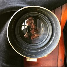 UNDEAD shoot: Gary Oldman through the lens… Setting up his tintype shot.