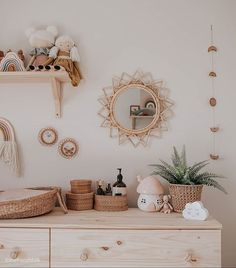 What& better for your kids room decor? We have some ideas for you! Baby Bedroom, Baby Room Decor, Nursery Room, Girl Nursery, Girl Room, Kids Bedroom, Nursery Decor, Baby Room Design, Boho Nursery