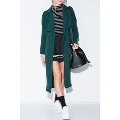 SHARE & Get it FREE | Elegant Lapel Long Sleeve Pocket Design Solid Color Women's Trench CoatFor Fashion Lovers only:80,000+ Items·FREE SHIPPING Join Dresslily: Get YOUR $50 NOW!