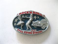 #RockNRoll Still Going Strong Belt #Buckle Made in #USA Designed by Paul Music @snapdragonslair