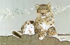 Kit comes with coloured picture, a numbered line drawing and numbered threads,image size - x kit contains stitching guidelines and or line by line stitching notes.This kit is considered difficult and only experienced stitchers should attempt to stitch it. Snow Leopard, Creative Crafts, Yarn Crafts, Line Drawing, Fiber Art, Japanese, Embroidery, Drawings, Instructions