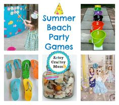 25 Summer Beach Party Ideas - Life is a Beach party .. and we have the perfect games to indulge in