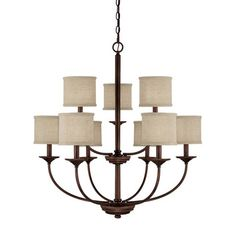 Capital Lighting Capital Lighting Loft 9 Light Chandelier. Entry, $355 Wayfair