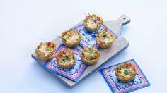 Mini-aardappelquiches - Recept - Allerhande - Albert Heijn