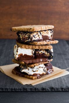 Vegan s'mores from the cookbook Grilling Vegan Style by John Schlimm. | Minimally Invasive blog