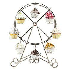ZGY Einzigartig 8-Tasse Edelstahl Rotierend Riesenrad Cupcake Dessert Ständer Becherhalter http://www.amazon.de/dp/B00OYTKEOA/ref=cm_sw_r_pi_dp_Jv70ub1T8QMTV