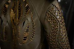 closeup of handwork Fashion Designer Iris Van Herpen   The Creators Project