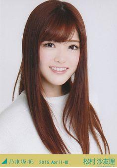 松村沙友理 — shiraishi-mai46th:   Matsumura Sayuri - 2015.... Beautiful Japanese Girl, Japanese Beauty, Matsumura Sayuri, Good Wife, Sweet Girls, Girlfriends, Long Hair Styles, Celebrities, Emoji