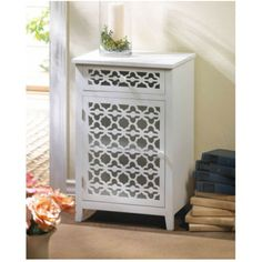 Floral Diecut Table Cabinet