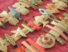vintage hair accesories