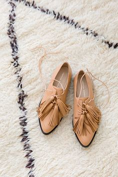 Borrowed from the boys / Loeffler Randall's classic oxford is updated with tassels. Shop now.