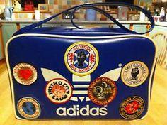 Original Peter Black Adidas Vintage 1970s Sports Bag Holdall Northern Soul