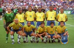 Football ©: Brazil Football Team (World Cup, Brazil Football Team, Brazil Team, Fifa Football, Fifa World Cup France, Brazil World Cup, Fifa 17, Football Team Pictures, Real Madrid Team, Roberto Carlos