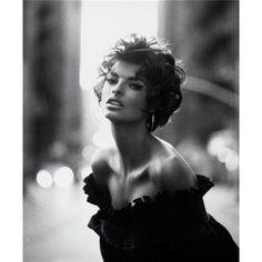 Linda Evangelista, by Steven Meisel, Vogue IT 1989