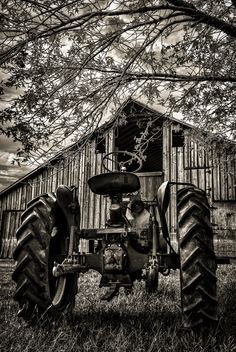 Old Tractors and Old Barns