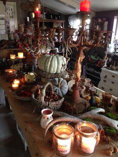 Gezellig en warme kleuren! Decoraties herfst