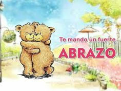 Brown Bear Cub el envío de un abrazo de oso saludos falta que nota tarjeta San Valentín
