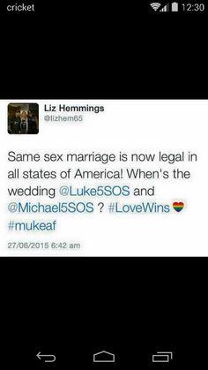 Liz Hemmings ships Muke XD