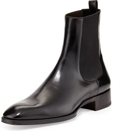 Tom Ford Gianni Leather Chelsea Boot, Black Leather Chelsea Boots, Brown Leather  Boots, 28703e09a6