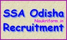 SSA Odisha Job openings 2015