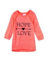 Miss Chievous Hope Love Top – Girls 7-16
