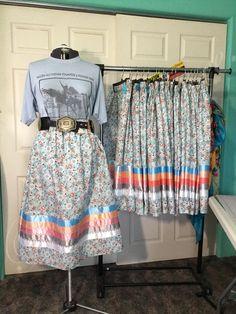Native American Regalia, Ribbon Skirts, Long Skirts For Women, Native Style, Ribbon Art, Bead Earrings, Preppy, Dress Skirt, Blankets