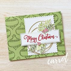 The Tag Buffet Stamp set is so AMAZING on its own that it deserves a card made with just it! But don't fret I plan to use it again with the Tag Buffet Project Kit for another alternate in our program! You will not want to miss this month of crafty seasonal fun! Cindy Schuster @cindy_schuster Created with the Tag Buffet stamp set (153612) #theCraftyCarrotCo #StampinUp #PaperCraft #HandmadeCard #TagBuffet