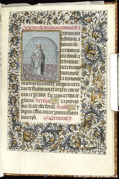 Book of Hours, MS M.854 fol. 198r - Images from Medieval and Renaissance Manuscripts - The Morgan Library & Museum