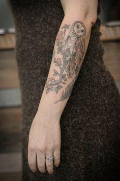Tattoo by Kristen at Wonderland, Portland