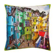City Print Cushion - digital print cushion from Zara Home
