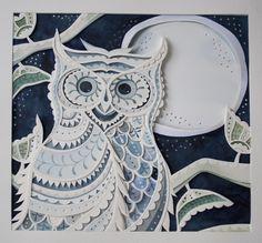 Winter Owl by Louise Jenkins