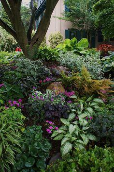 Rectangle Garden Design nice 45 Charming Flower Beds Ideas For Shady Yards.Rectangle Garden Design nice 45 Charming Flower Beds Ideas For Shady Yards Garden Design, Woodland Garden, Cottage Garden, Shade Perennials, Backyard Garden, Outdoor Gardens, Dream Garden, Shade Landscaping, Shade Garden Design