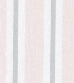 Nursery Fabric Baby Basic Stripe Pink