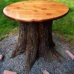Tree Stump For Garden Art_36