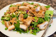Top Secret Recipes | Applebee's Oriental Chicken Salad Copycat Recipe