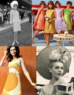 Derby Day Dressing, '60s Style