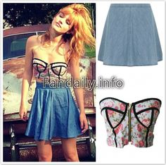Bella Thorne style & Fashion