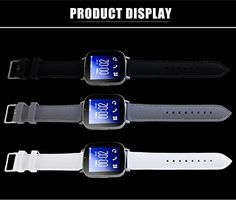 """HUA MU Z9 1.54 """"HD SmartWatch Phone With Camera Sleep Monitor Sport Pedometer and Social Application Information Synchronization For Android SmartPhone (Black). Process characteristics: 1.54 inches TFT / IPS arcuate curvature of the touch screen, made of vacuum-plated bezel, PC + ABS-end polished table, medical silicone strap, watch long life, comfortable to wear, Three kinds of dial colors Five kinds of strap colors. Smart Sync: now compatible with more than 99% of the Android smartphone..."""