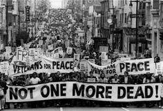 Anti-War Demonstration San Francisco  1969.