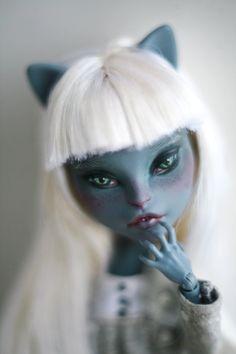 Custom Monster High Meowlody Doll