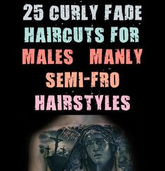 For boyish appeal and ageless gumption, trendy guys merely can not fathom a more sensible choice than the curly fade haircut. This city look is all the fad amongst younger males proper now. How do you mix the chilled out persona of an afro with the s #curly #haircuts #hairstyles #males #manly Curly Haircuts, Hairstyles, Mens Fashion Blog, Boyish, Fade Haircut, Persona, Afro, Hair Cuts, Guys