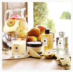 My favorite light fragrance... English Pear and Freesia by Jo Malone London