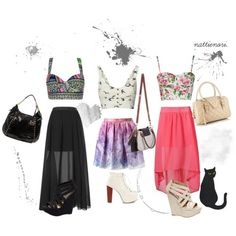 crop top outfits - Google Search